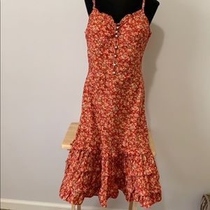 Polo by Ralph Lauren floral dress size M